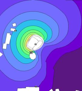 Simulation du rayonnement acoustique environnemental
